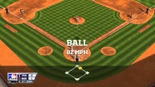 R.B.I. Baseball 14 - ALCS Game 4: Boston Red Sox vs. Texas Rangers