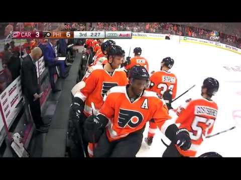 Philadelphia Flyers vs Carolina Hurricanes - October 22, 2016