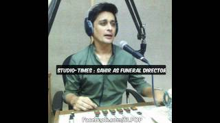 Studio Times L Sahir Lodhi  As Funeral Director  (2nd May 2014)