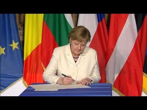 Líderes da União Europeia reafirmam união apesar do Brexit