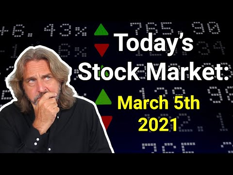 Stock Market Today: March 5, 2021