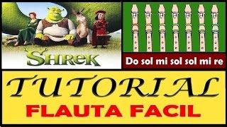 """Shrek - Fairytale en Flauta """"Con Notas Explicadas"""""""