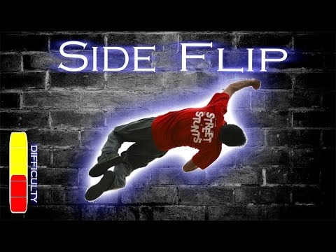 Free Running Flip How to SIDE FLIP - Fre...