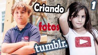 CRIANDO FOTOS TUMBLR 1