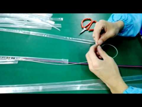 How to make IP68 Silicon Waterproof LED Strip Light in workshop