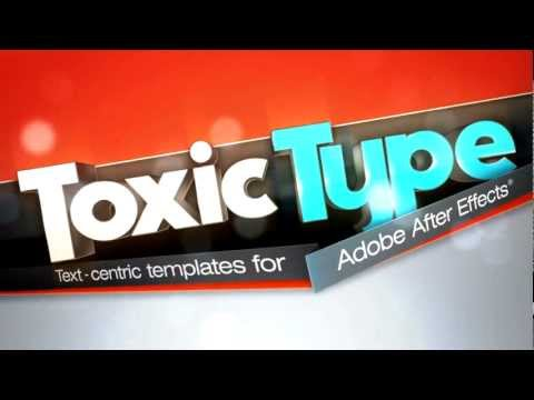Digital Juice - Toxic Type Collection 1 AE