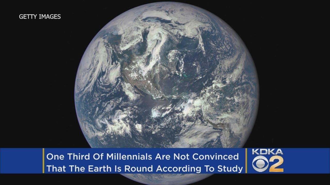 Imagini pentru A Third Of Millennials Aren't Sure The Earth Is Round, Survey Finds
