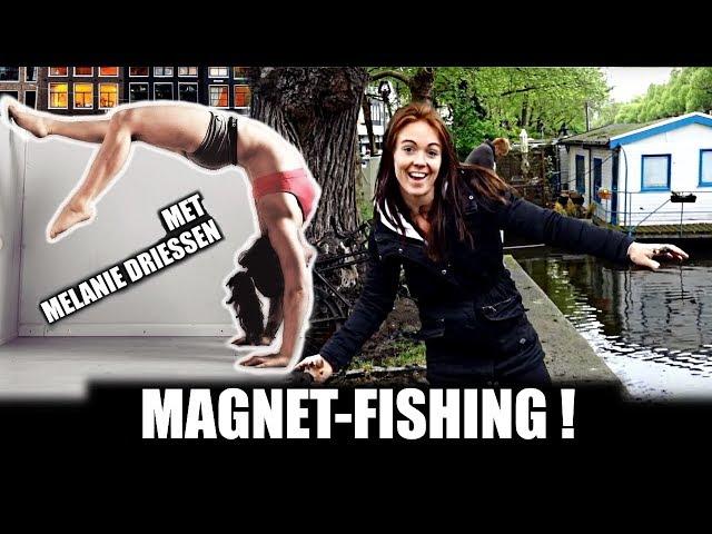 MELANIE MEE MAGNEETVISSEN ?! - GA TOCH FIETSEN !! - AMSTERDAM - WATCHDUTCH MD