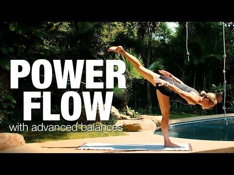 Power Flow with Advanced Balances Yoga Class - Five Parks Yoga