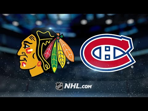 Crawford, DeBrincat lead Hawks past Canadiens, 3-1