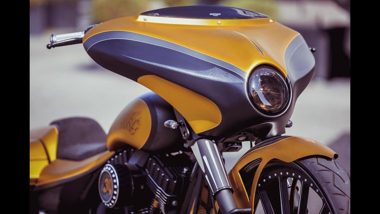 ⭐️ Harley Davidson Custom Street Glide Touring by Thunderbike -  Review