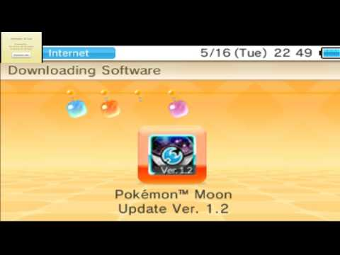 POKEMON SUN AND MOON UPDATE 1.2 IS OUT UPDATE NOW!