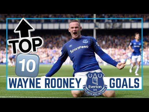 TOP 10: WAYNE ROONEY GOALS