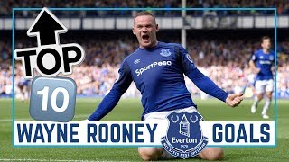 TOP 10: WAYNE ROONEY GOALS