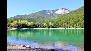 КРЫМ Бирюзовое озеро в горах