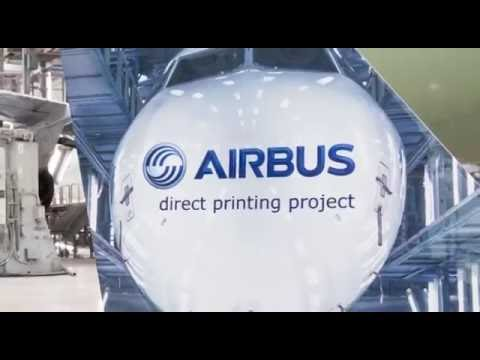 Aircraft Livery Direct Printing by Airbus - #AID16