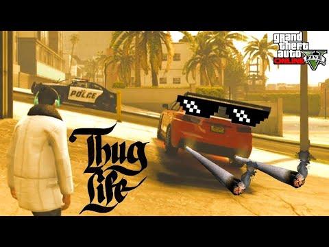 GTA 5 Thug Life   Баги, Приколы, Фейлы, Трюки, Эпичные Моменты #42