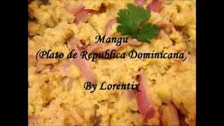 Mangu, Republica Dominicana, Pure de platano, green banana