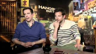 Bradley Cooper And Ed Helms On The Hangover Part II | Empire Magazine