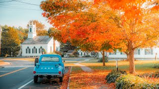 Early Fall Foliage in New England