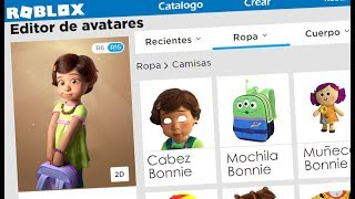 Creamos el Perfil de Bonnie en Roblox | Toy Story 4 | Kori