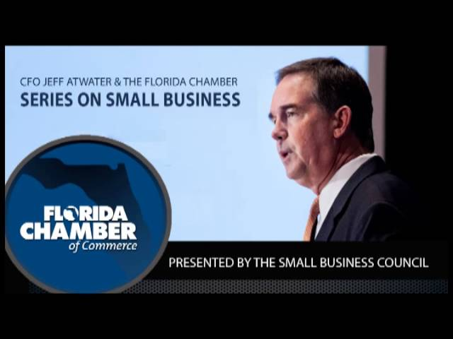 Small Business Council Presents CFO Atwater and the Florida Chamber Series on Small Business