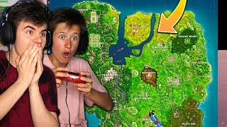 *NEW* SEASON 5 FORTNITE LOCATIONS! LITTLE BROTHER PLAYS NEW FORTNITE UPDATE
