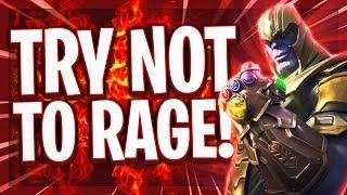 😡🚫TRY NOT TO RAGE! | Ich hasse den Thanos Modus! | Wie soll man da ruhig bleiben?! | Fortnite