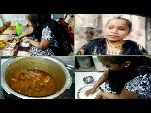 Saturday Routine (mutton Korma Recipe) Indian Youtuber Shifa Ansari.