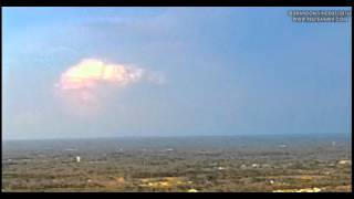 Time Lapse of Distant Updraft from 850 ft AGL