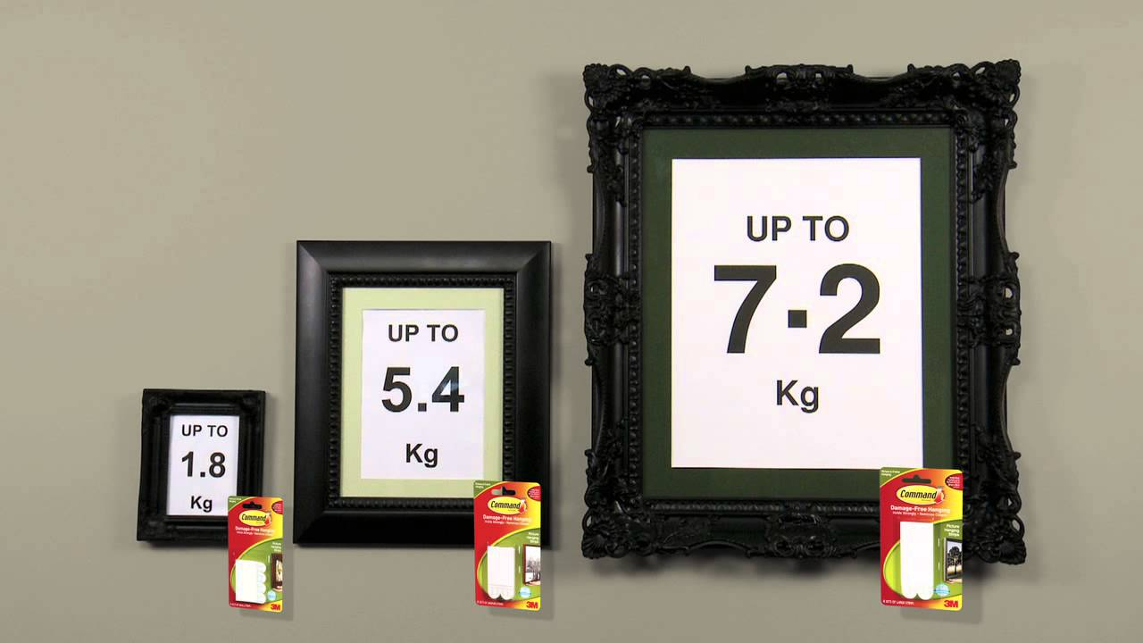 Wall Hanging Without Nails Part - 44: Command™ Picture Hanging Strips TV Ad 2014 HD - YouTube