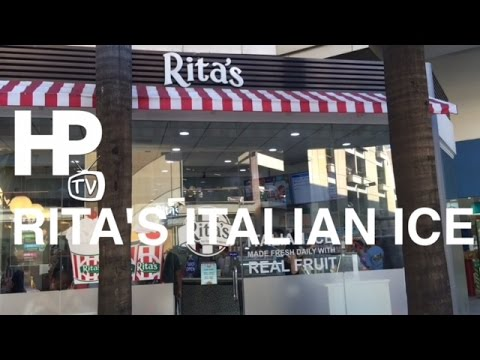 Rita's Italian Ice Custard V-Mall Greenhills Manila Philippines by HourPhilippines.com