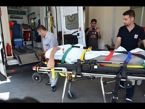 Besni'de Traktörden Düşen Kadın Yaralandı