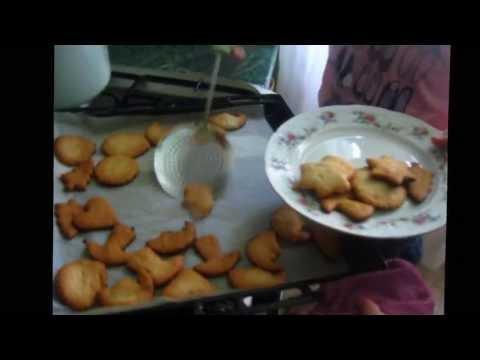 Тесто для фигурного печенья