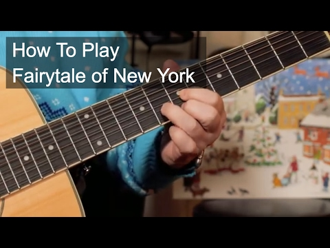 How to Play: 'Fairytale of New York' The Pogues & Kirsty McColl Guitar Lesson