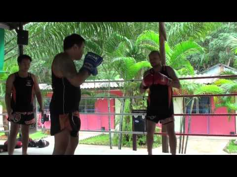 ^~ Free Watch Muay Thai Part 2 Mechanics of Kicking Knees and Blocking