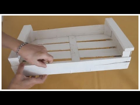 ♻ 3 Ideas Reciclando Cajones De Madera - Reciclaje - Manualidades Fáciles 😉 - DIY - Arte En Casa