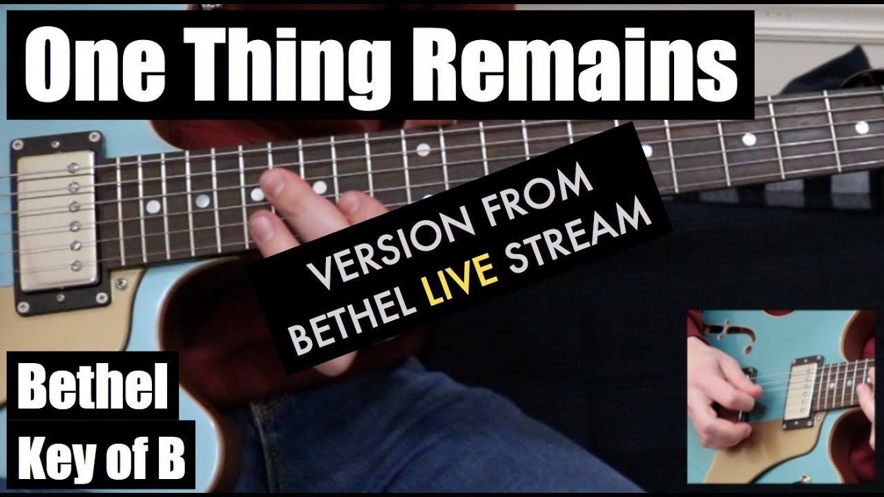 One Thing Remains Live Version Lead Guitar Version From Live