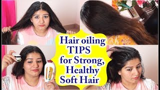 How to do hair oiling for thick long healthy hair
