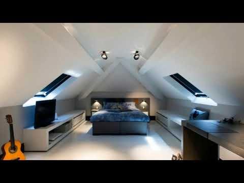 20 Cool Attic Bedroom Design Ideas