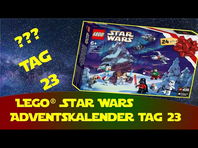 Lego Star Wars Adventskalender Tag 23 - Obi Daniel Lego Stop Motion - 23. Türchen - Todesstern 10188