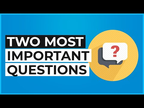 The Two Most Important Questions to Ask a Seller