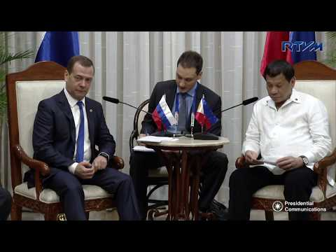 Bilateral Meeting with Russian Prime Minister Dmitry Medvedev 11/13/2017