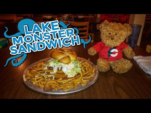 LAKE MONSTER SANDWICH CHALLENGE!!