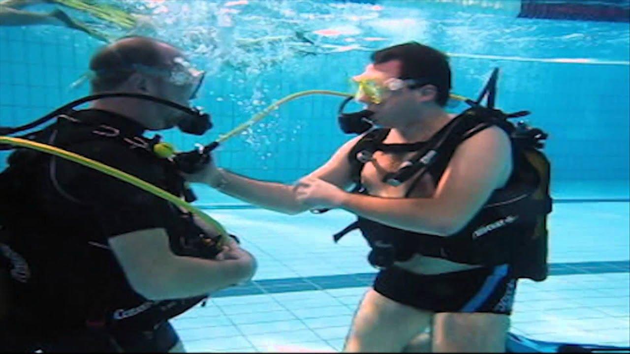 Cours de plongée initiateur
