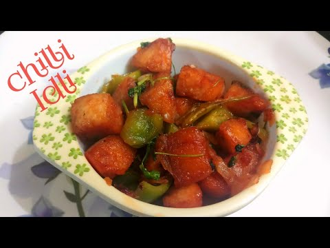 Chilli idli in tamil || Evening snack recipes in tamil|| Easy dinner recipe in tamil
