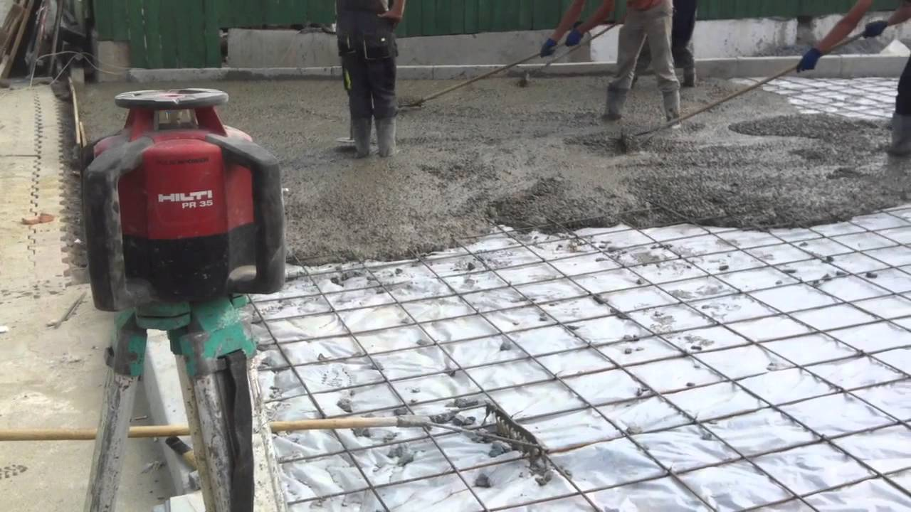 Залить дорогу бетоном бетонная смесь доклад