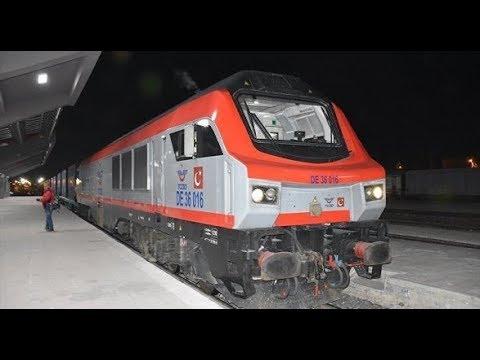 Первый поезд из Турции отправлен в Баку