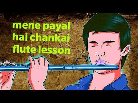 Mene Payal Hai Chankai Flute Lesson Tutorial By Pravin Gulve