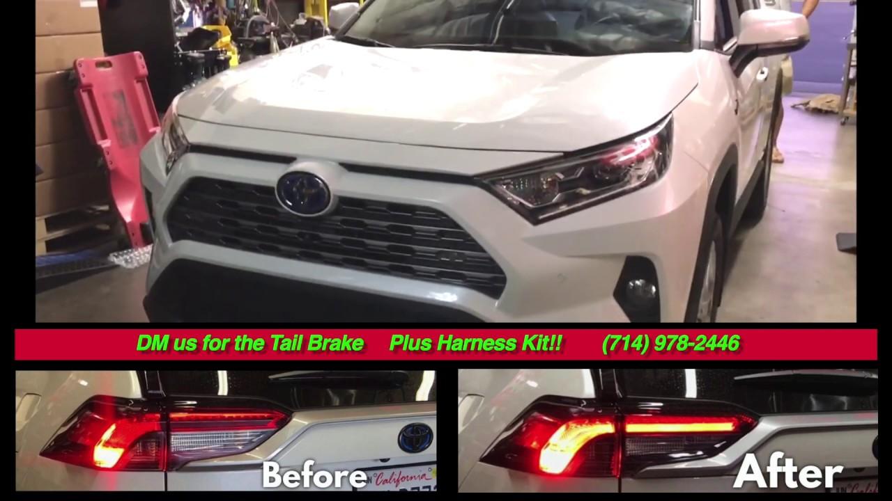 2019-up Rav4 Tail Brake Light Problem Solved